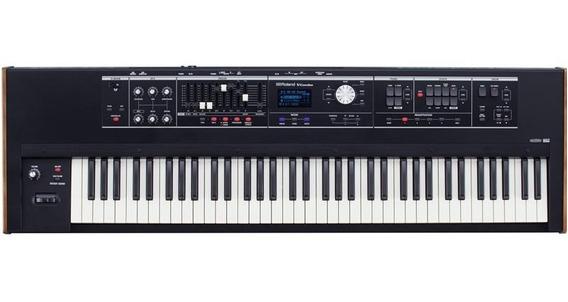 Teclado Sintetizador Roland Vr-730 V-combo Com 73 Teclas Nf.