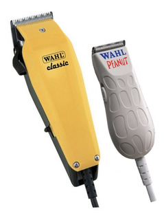 Kit Máquina Corte Classic + Máquina Acabamento Peanut Wahl