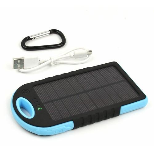 Cargador Solar Portatil Powerbank 12000mah / Soy Tienda