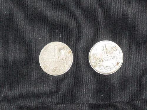 Imagen 1 de 4 de Moneda 1 Centavo Colombia 1941 Y 1954