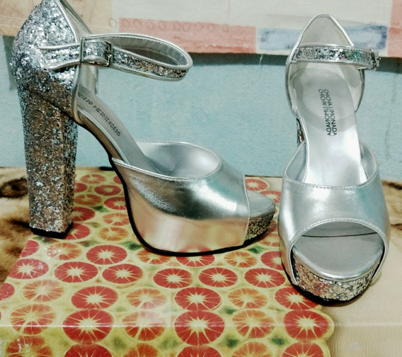 Zapatos N°37. Sin Uso, $1.200