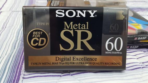 Fita Sony Metal Sr 60 Novo Lacrado