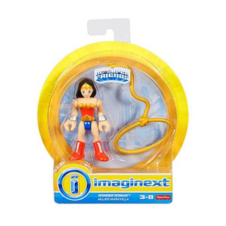 Figura Wonder Woman- Fisher Price Dc Súper Friends Imag