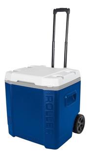 Caixa Térmica Cooler 56 L 90 Latas Igloo Com Puxador E Rodas