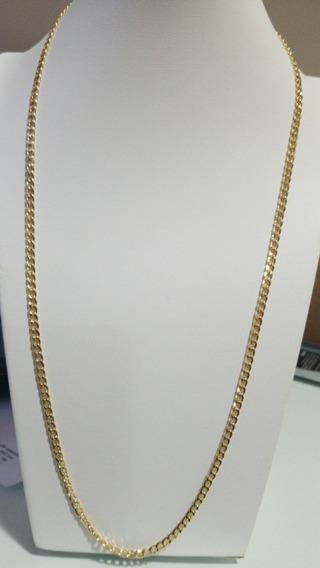 Corrente Masculina Oca 60cm Ouro Amarelo Polido 18k750