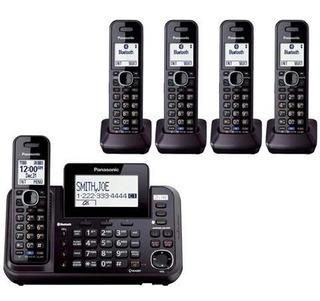 Panasonic Kx-tg9542b Dect 6.0 Base + 4 Telefonos 1.9ghz