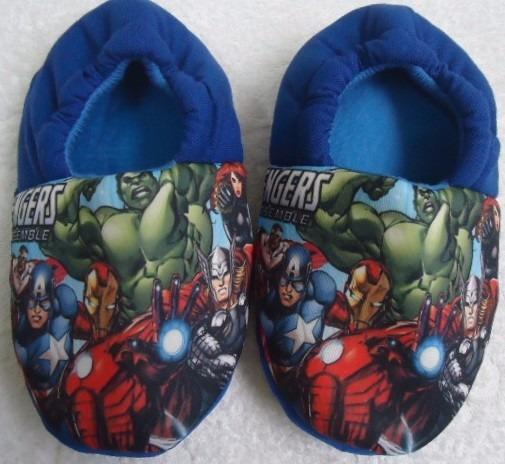 Pantufa Vingadores Avengers Chinelo Quarto