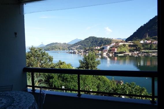 Vendo Excelente Apartamento Com Vista Para O Mar, Frente A Ilha De Caras, Com 3 Quartos Sendo 1 Suíte, Banheiro Social, Sala Ampla Com Varanda, Cozin - Ap00036 - 34463795