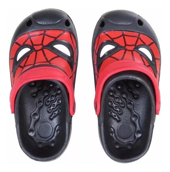 Suecos Spiderman Sandalias Hombre Araña Vengadores Fty