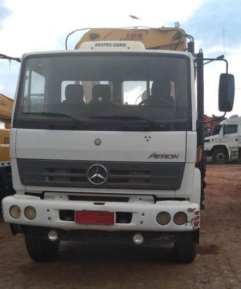 Mercedes-bens Atron 2729 6x4 Ano 2012 Munck Ing 50500