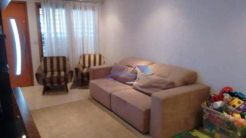 Sobrado Com 2 Dormitórios À Venda, 160 M² Por R$ 395.000,00 - Cidade Centenário - São Paulo/sp - So0083