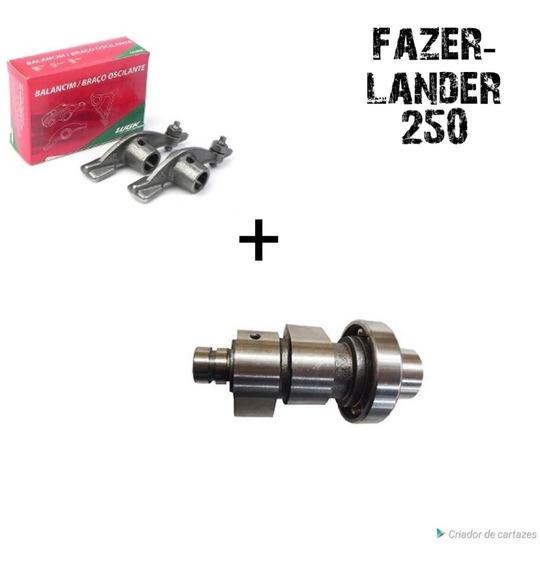 Árvore Comando Fazer- Lander 250+ 02 Balancim Wgk