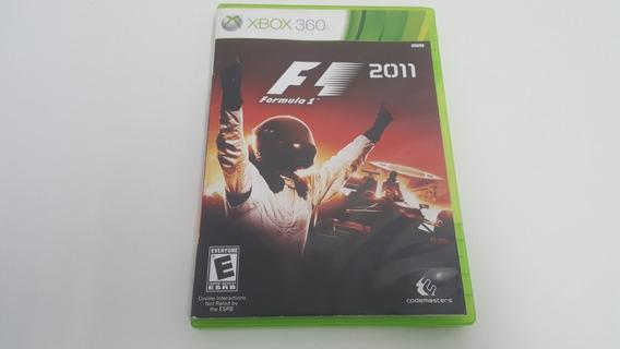 Jogo F1 - Formula 1 2011 - Xbox 360 - Original - Física