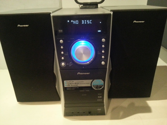 Home Theater Pioneer Ev5 Dvd Lector Usb 200 Watts Rms (50)