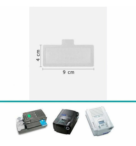 Filtro Nacional Ultrafino Cpap Remstar Plus/bipap Synchrony2