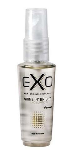 Imagem 1 de 2 de Óleo Reparador Exo Hair Shine 'n' Bright Oil 30ml