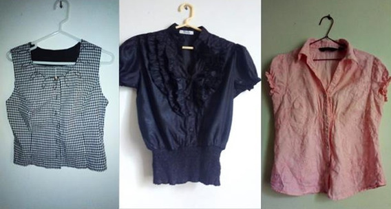 Lote Ropa Mujer S M L 60 Piezas Aprox X S/.150
