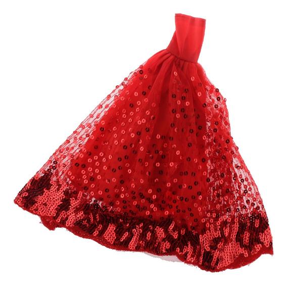 Victoriano Vestido De Encaje Mini Ropas Para Muñeca Niña