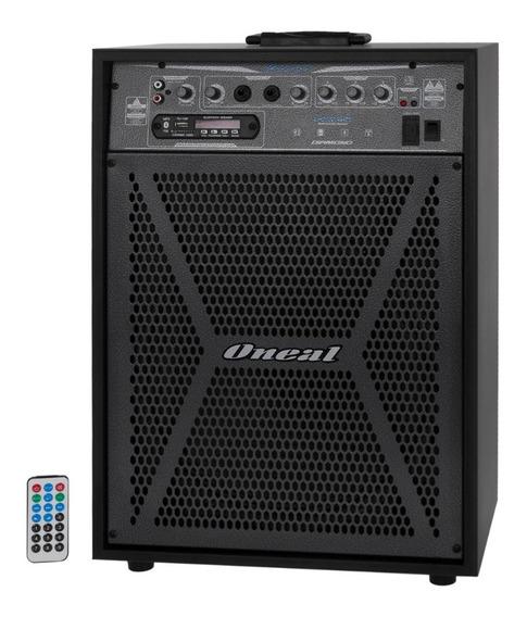 Caixa Multiuso Amplif Oneal Ocm 4112 Usb/sd/fm/ Bluetooth