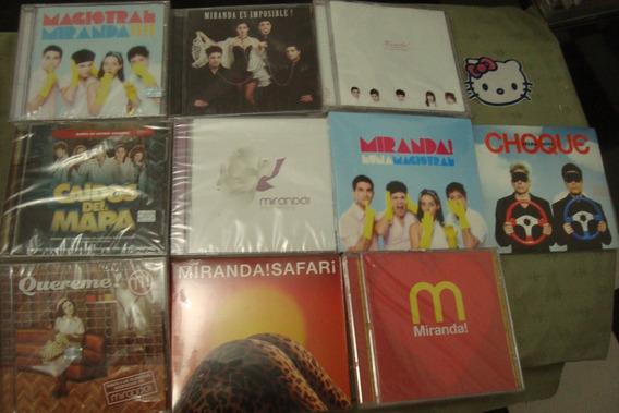 Miranda Lote 10 Cds Nuevos (todos Cerrados,sellados)
