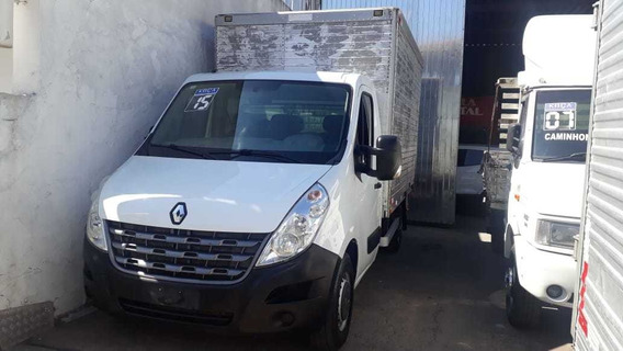 Renault/master Chassis Baú Ano 2015 Completa