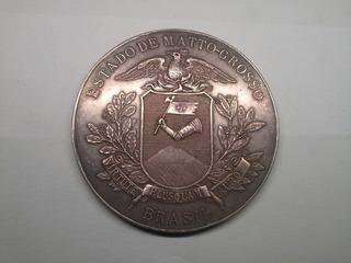 Medalha Bi Cent. Fundação De Cuiabá *mato Grosso-brasil 1919