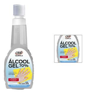 Álcool Em Gel 70% Higienizador De Mãos 500g