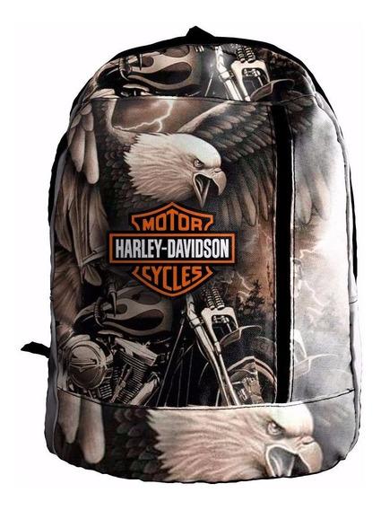 Mochila Sublimada Harley Davidson Mcs130