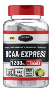 Bcaa Express - 4 Potes 120 Caps - Lauton Nutrition