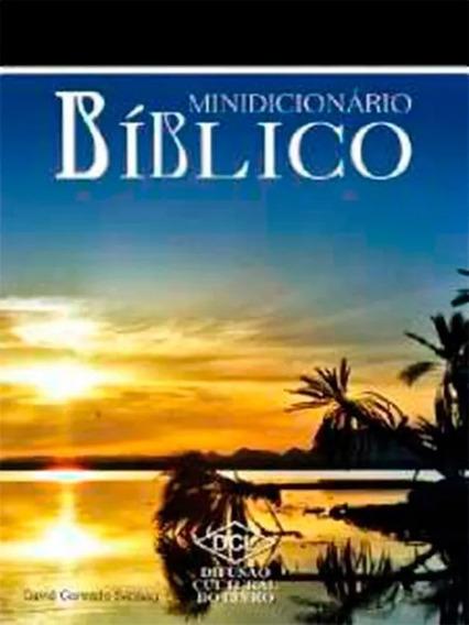 Kit Minidicionário Bíblico+minidicioná Da Língua Portuguesa