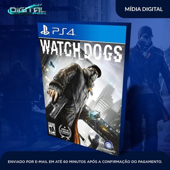 Watch Dogs Ps4 Psn Jogo Digital Envio Hoje! Original