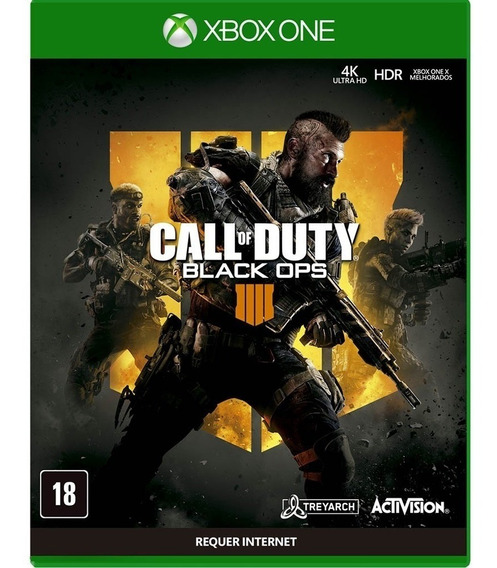 Game Call Of Duty Black Ops 4 - Xbox One Míd Física Promo