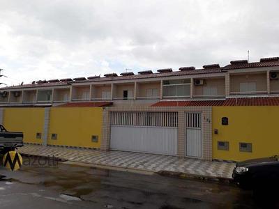 Casa 2 Dormitórios Jardim Quietude Em Praia Grande-sp - V535