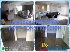 Limpiezas Profundas Post Construcción