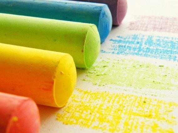 Tizas Play Color Color X Caja X 144