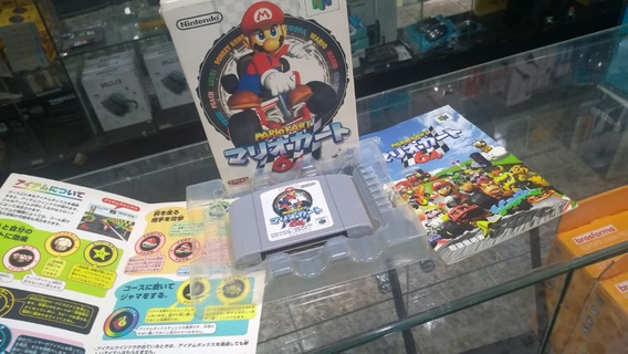 Jogo Mario Kart 100% Original Japonês Nintendo 64