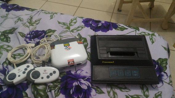 Consoles 01 Mega Drive 3 86 Jogos Na Memoria E 01 Dynavision