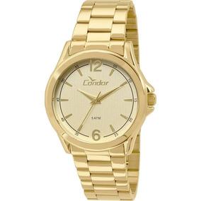 Relógio Condor Masculino Dourado Co2035kos/4x Promoção