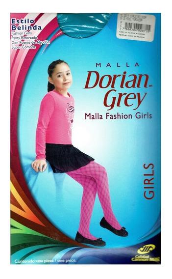 Malla Dorian Grey Fashion Girls Fantasía Modelo Belinda