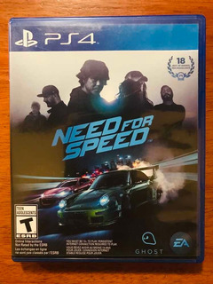 Need For Speed Ghost Físico Para Ps4