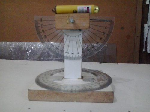 Teodolito Artesanal C/ Laiser Para Professores/estudantes