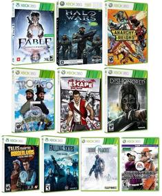 Kit 10 Jogos Para Xbox 360 - Midia Fisica Original E Lacrado