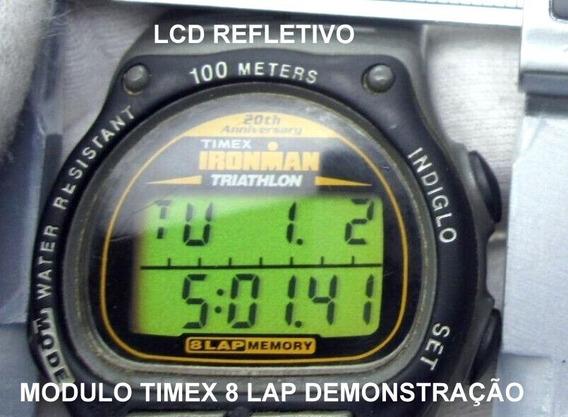 Timex Ironman Triahtlon 8 Lap Módulo Completo S/uso