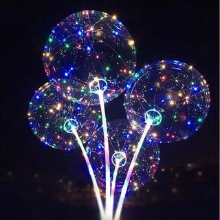 6 Balao Para Festas Com Led Debutante Balada Bubble Revenda