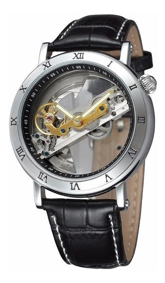 Relógio Automático Máquina Compactada E Visível