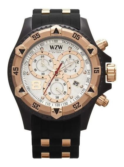 Relógio De Pulso Wzw Sport 7214 Original