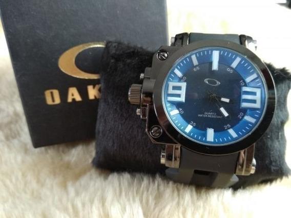 Relógio Oakley Vermelho Novo
