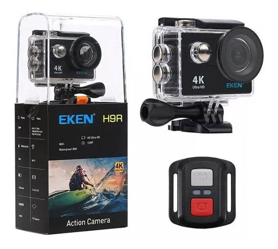 Câmera De Ação 4k Controle Remoto Eken H9r Frete Gratis