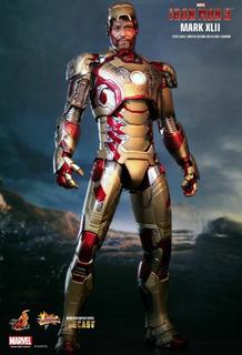 Iron Man Figura Hot Toys Mark42 Scala 1.6 Oferta 450,00
