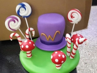 Adornos Torta Willy Wonka En Mercado Libre Argentina